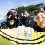 富戸で親子ダイバー2組の講習&認定ダイビング!