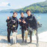 OW(オープンウォーターダイバー)チームとツアーチームで伊豆半島を大満喫!