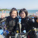 大島ダイビングツアーに講習に楽しい連休でした!