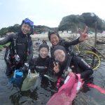 平沢ダイビングツアーにプール講習!みんな楽しんでます!