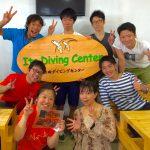 井田でも大島でもアドバンス講習開催中!記念ダイブに群れ群れの海