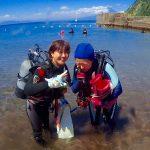 ベタ凪の井田の海と季節来遊魚!見どころ満載の海はやっぱり面白い!