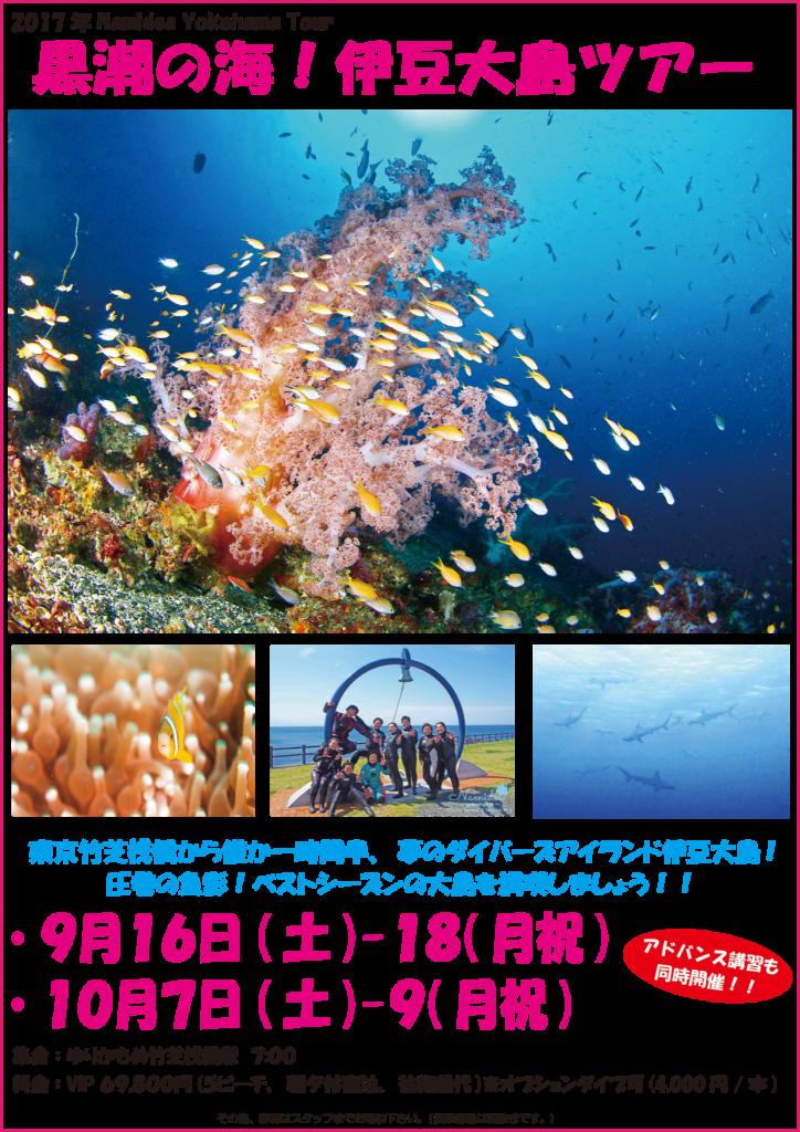 Namidea Yokohama 秋の大島ツアー