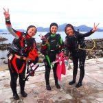 平沢ツアーに八丈島調査ダイビングと潜ってますよ!