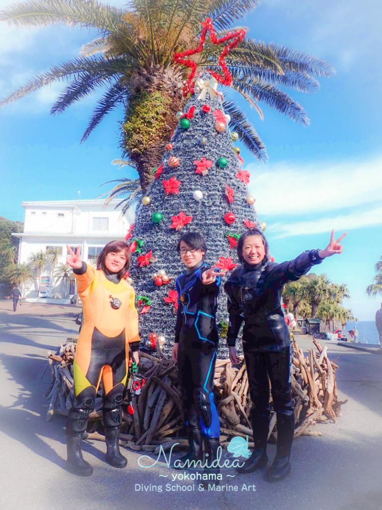 伊豆海洋公園のクリスマスツリー