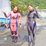 初めての海の中!富戸でソロツアー!
