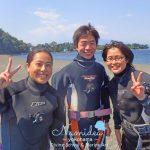 伊戸でAKKD!AD(アドバンスドオープンウォーター)海洋実習