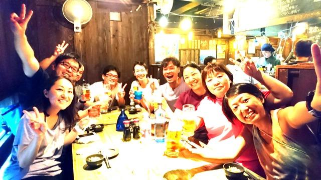 沖縄ダイビングツアーでの夕飯