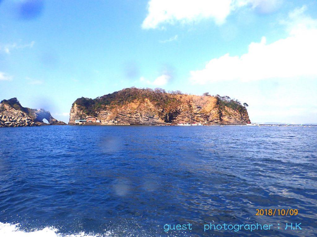 千葉かっちゃまのダイビングポイント浮島