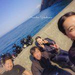 今日はべた凪の井田ビーチ!みんなでカメラを持ってアレ撮りに芝生へ行ってきました♪