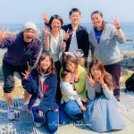 今日は早川ビーチでダイバー誕生&ダンゴ探し!そしてこれから5周年パーティーでーす!