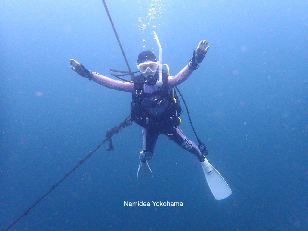 Namidea Yokohama 初めてのボートダイビング