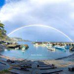 広い空にかかる虹をまた見たい!!